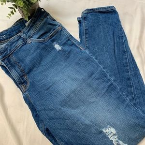 Old Navy Rockstar Jeans. Size 14 Skinny